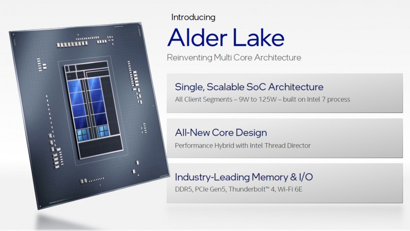 Alder Lake ist ein Hybrid-Design mit P/E-Cores.