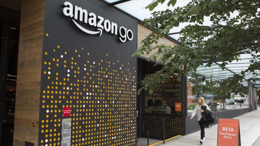 Amazon betreibt bereits Einzelhandelsgeschäfte im Lebensmittelbereich.