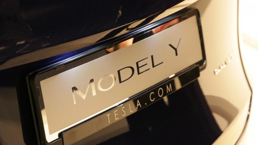 Die ersten Model Y aus China werden demnächst in Deutschland ausgeliefert.