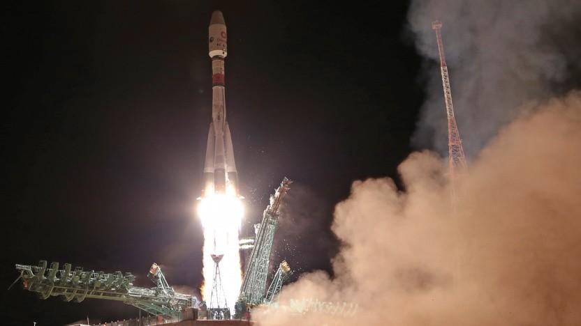 Sojus-Rakete mit 34 Satelliten an Bord erfolgreich gestartet