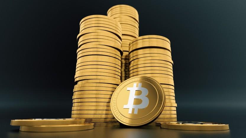 Bitcoin steigen weiter im Wert.