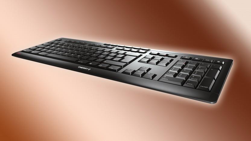 Das Stream Keyboard Wireless funktioniert drahtlos.