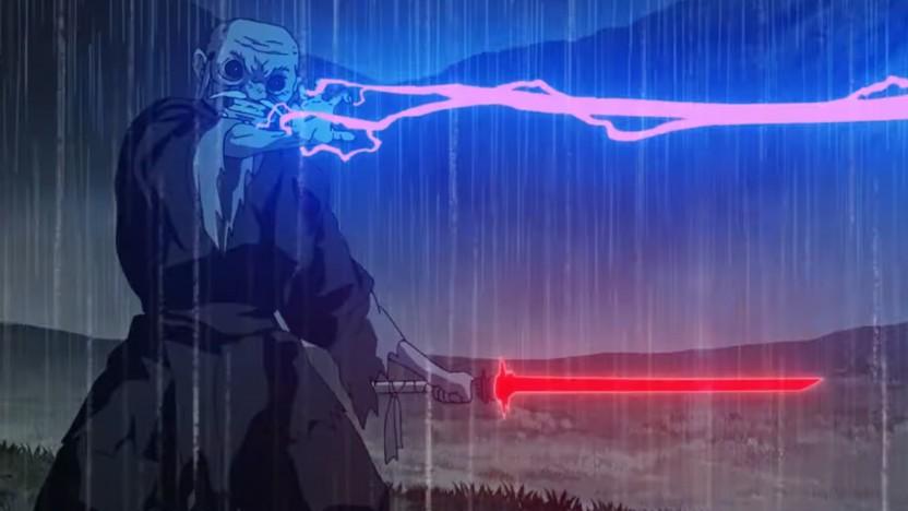 Star Wars Visions zeigt das bekannte Universum im neuen Anime-Stil.