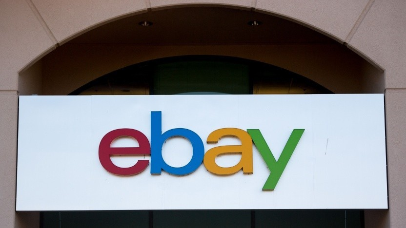 Ebay Logo nur noch auf Zeit