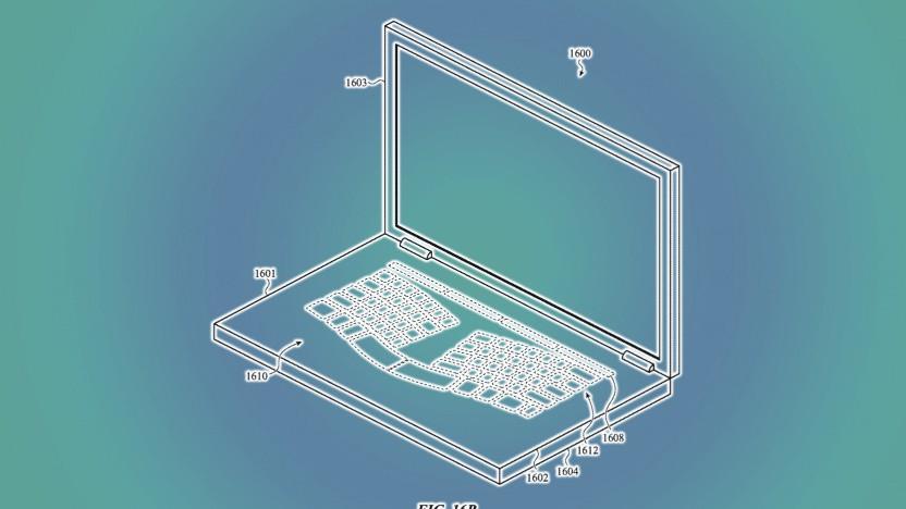 Die virtuelle Tastatur könnte verschiedene Layouts anzeigen.