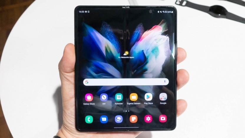 Das Galaxy Z Fold 3 von Samsung