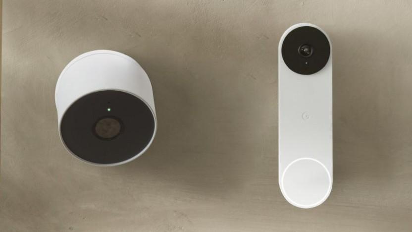 Nest Cam und Nest Doorbell gehen in den Verkauf.