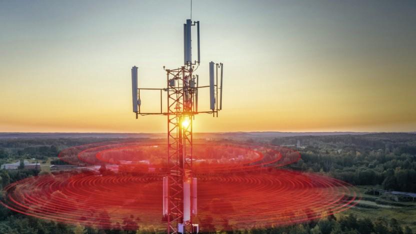 Vodafone ist stolz auf sein 4G-Netz.