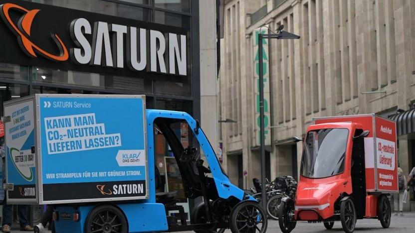 Cargobikes in Berlin