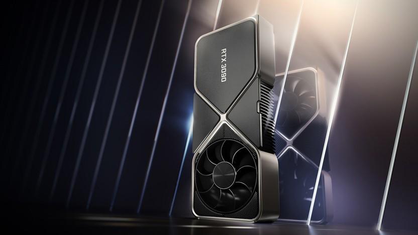 Die aktuelle Geforce RTX 3090 kommt mit 350 Watt aus.