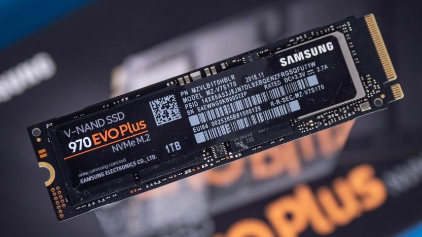 Samsungs 970 Evo Plus in der ursprünglichen Version