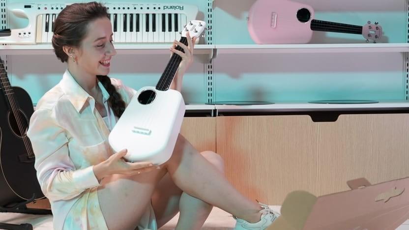 Die Populele 2 Pro wird aus Kunststoff gefertigt.