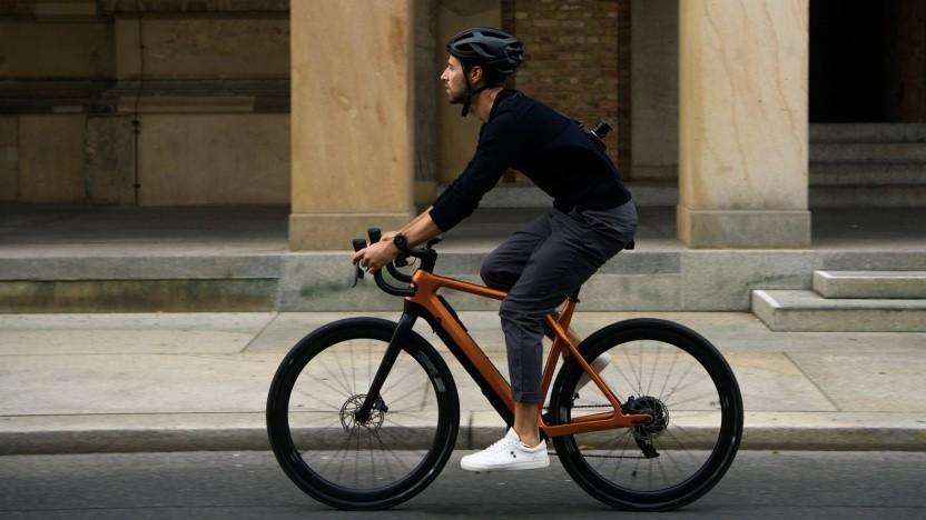 E-Bike Cyklær E-Gravel: mehr Sicherheit beim Fahrradfahren