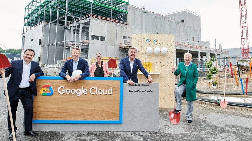 Erweiterungsbau der bestehenden Frankfurter Google-Cloud-Region