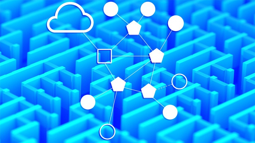 Ein Thread-Netzwerk kann aus einem oder mehreren Routern und diversen Endpunkten bestehen.