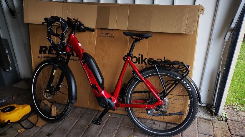 Das E-Bike von Rebike ist absolut toll, wenn es funktioniert.