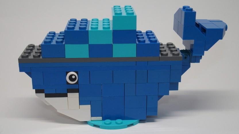 Der Docker-Wal aus Lego