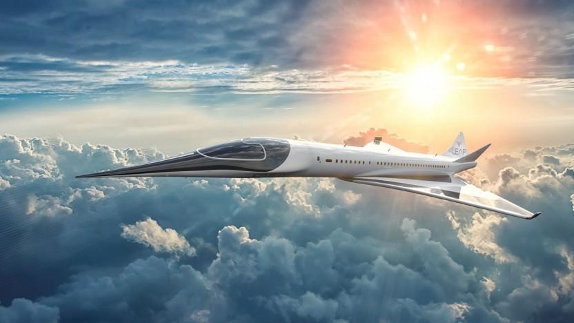 Überschallflugzeug Leap EON-01: kommerzieller Einsatz im Jahr 2029
