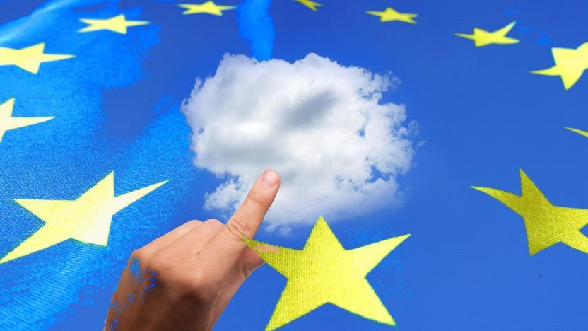 """Die EU arbeitet an einer """"datensouveränen"""" Cloud."""