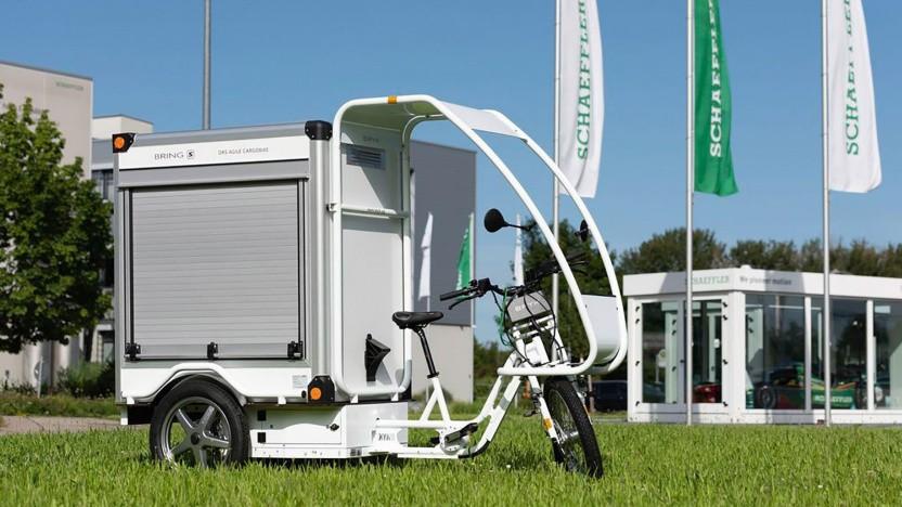 Schaeffler Free Drive: Vor allem bei Lastenrädern dürfte Free Drive Vorteile bringen.