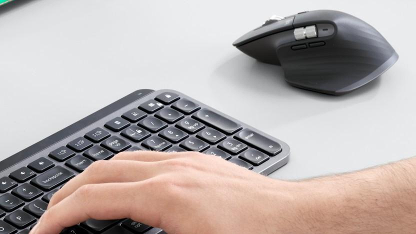 Tastaturen und Mäuse von Logitech arbeiten mit Logi Bolt.