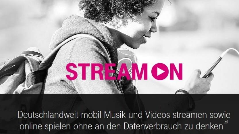 Werbung für StreamOn