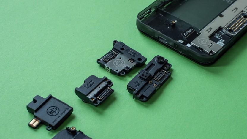 Das Fairphone 3 und seine Module