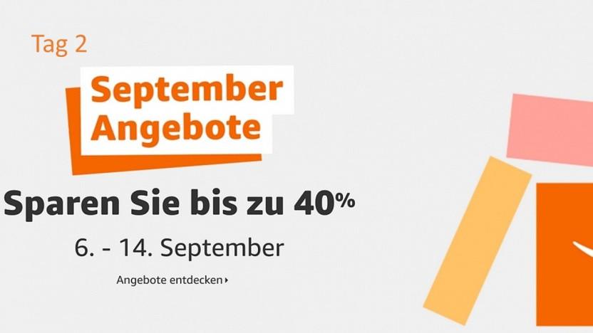 Satte Rabatte bei den September Angeboten von Amazon.