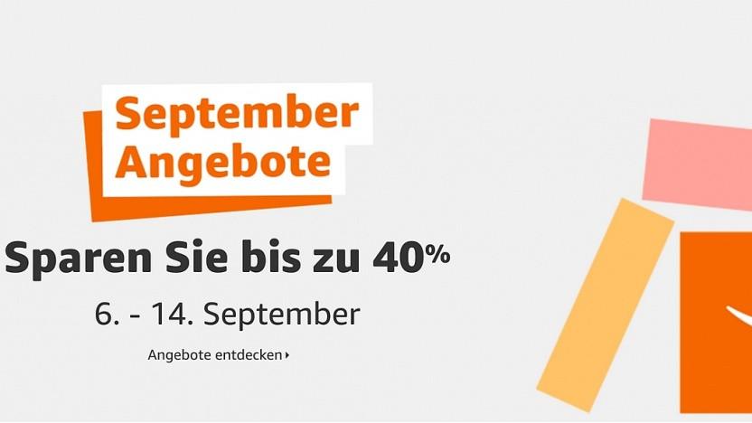 Satte Rabatte bei den September Angeboten von Amazon