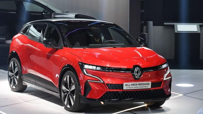 Der neue Renault Mégane E-Tech Electric.