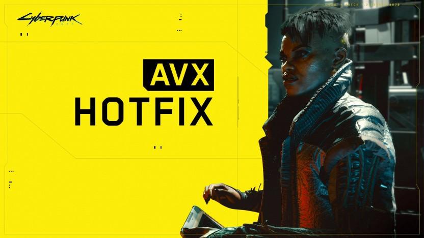 Cyberpunk 2077 setzt (erneut) kein AVX voraus.