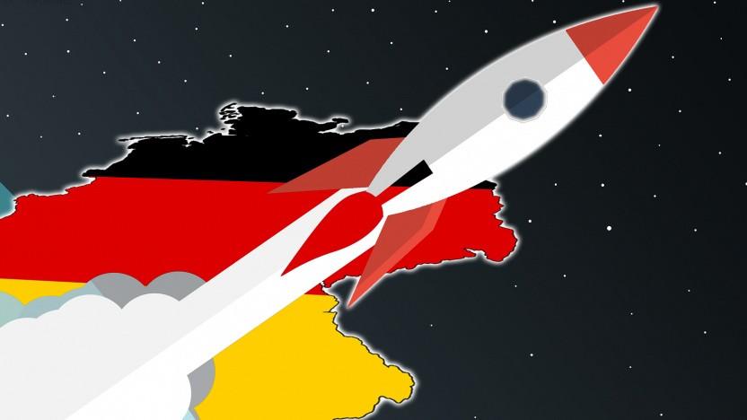 Deutschland soll als Raketenstartstandort gelten.