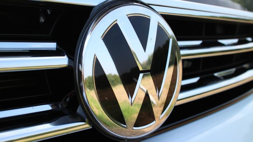 Ein Volkswagen