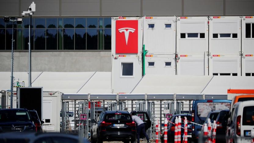 Für das kommenden Tesla-Werk wird auch ein Bahnhof verlegt.
