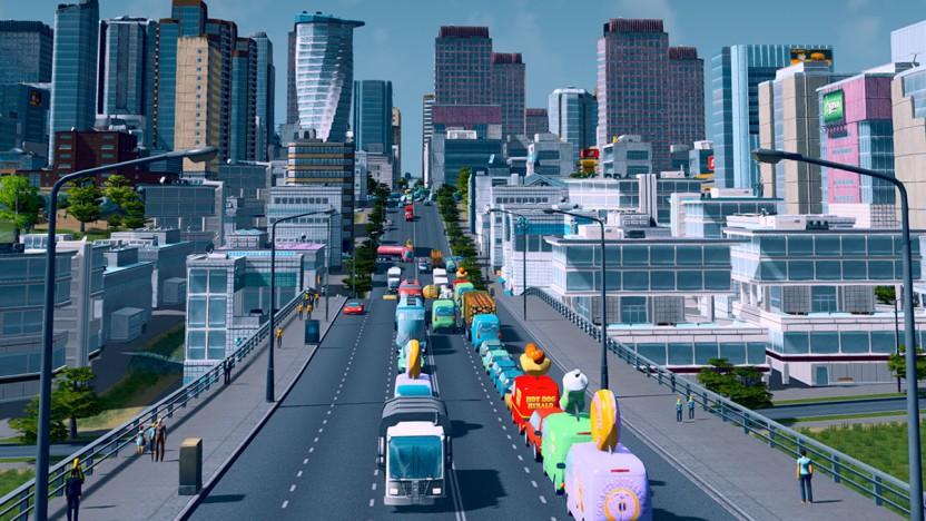 Artwork von Cities Skylines