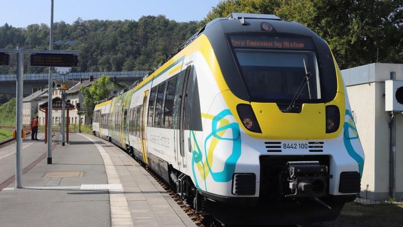 Der Akkuzug Talent 3 von Alstom soll noch in diesem Jahr regulär fahren.