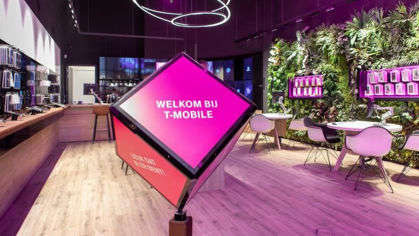 T-Mobile Niederlande geht für einen guten Preis weg.