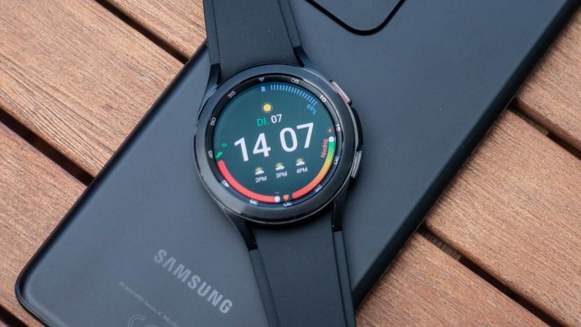 Die Galaxy Watch 4 von Samsung