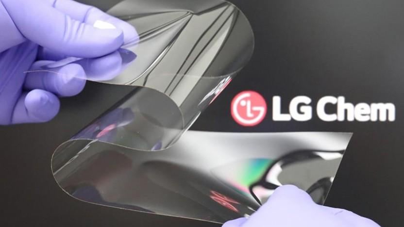 Das von LG Chem entwickelte Schutzmaterial