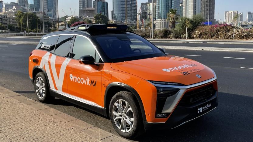 Die autonomen Autos von Mobileye sind schon in Tel Aviv unterwegs.