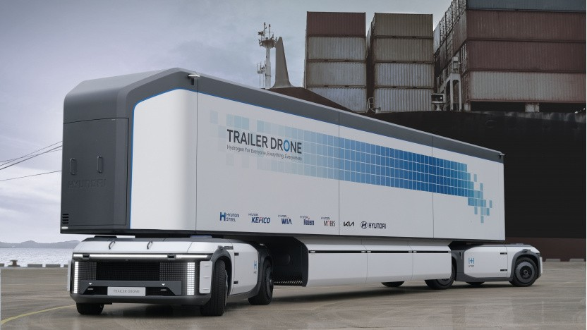 Hyundai hat Drehgestelle (Fuel Cell e-Bogie) mit Brennstoffzellenantrieb entwickelt.