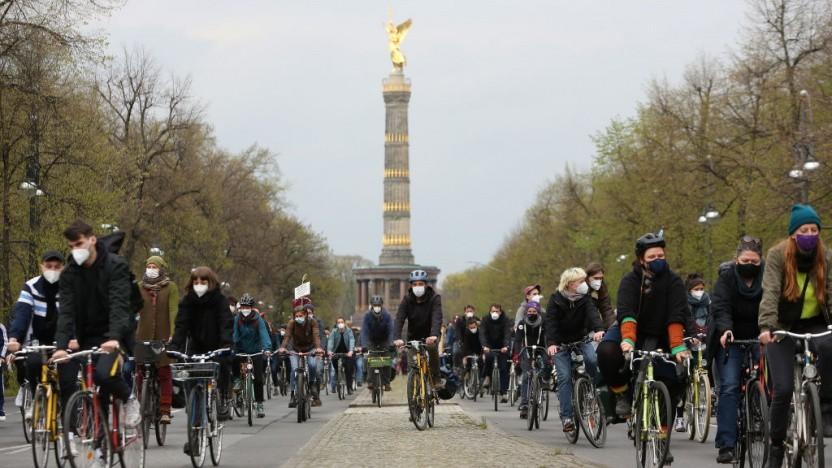 In Berlin werden rund 30.000 Fahrraddiebstähle jedes Jahr angezeigt.