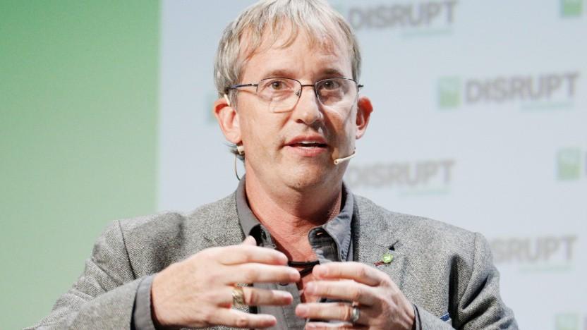 Colin Angle, CEO von iRobot, bei einer Veranstaltung im Jahr 2018