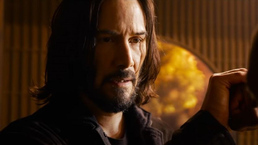 Könnte auch John Wick sein: Keanu Reeves als Neo in The Matrix Resurrections