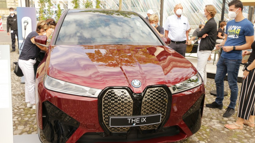BMW zeigt auf der IAA nur seine vollelektrischen Modelle wie den iX.