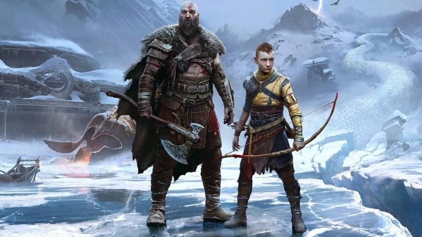 Artwork von God of War Ragnarök