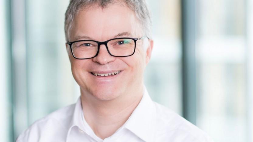 Markus Löffler leitet die technische Entwicklung der Allianz SE.