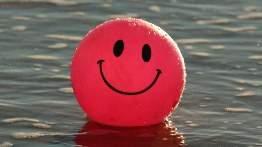 Ein Smiley in seiner ursprünglichen Form
