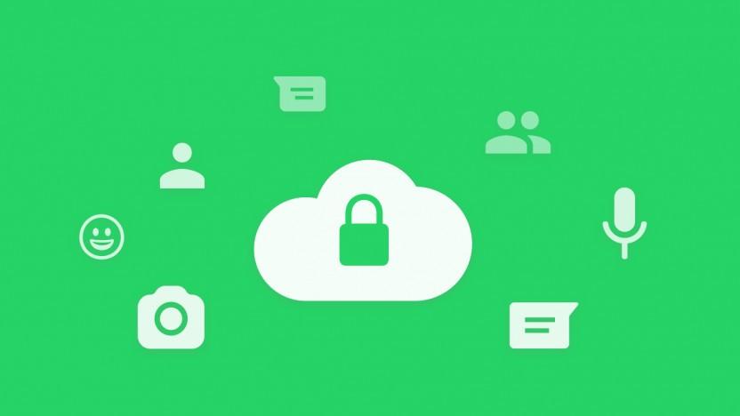 Whatsapp bietet nun verschlüsselte Backups an.