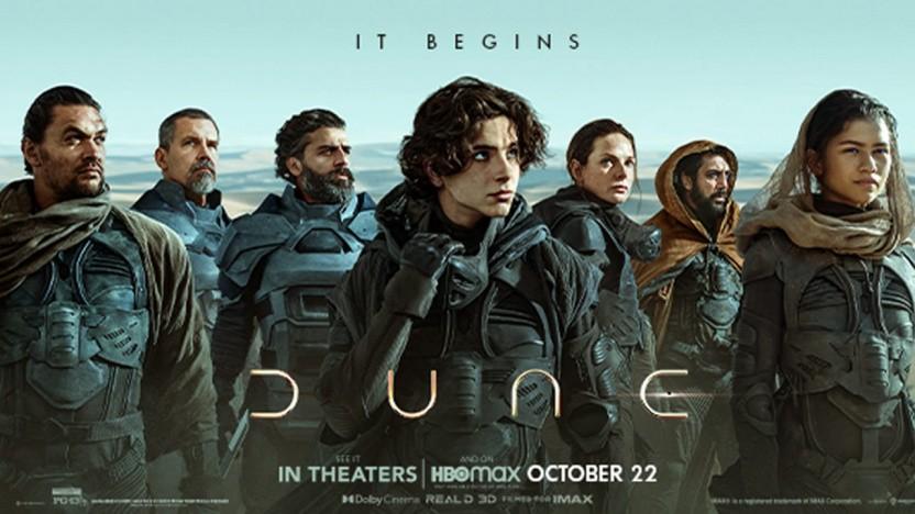 Dune kommt am 16.9.21 ins Kino